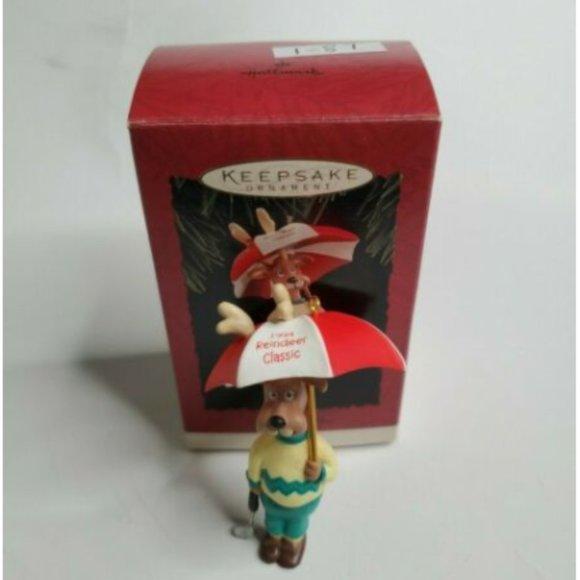 "Hallmark /""Reindeer Pro/"" Ornament 1994"